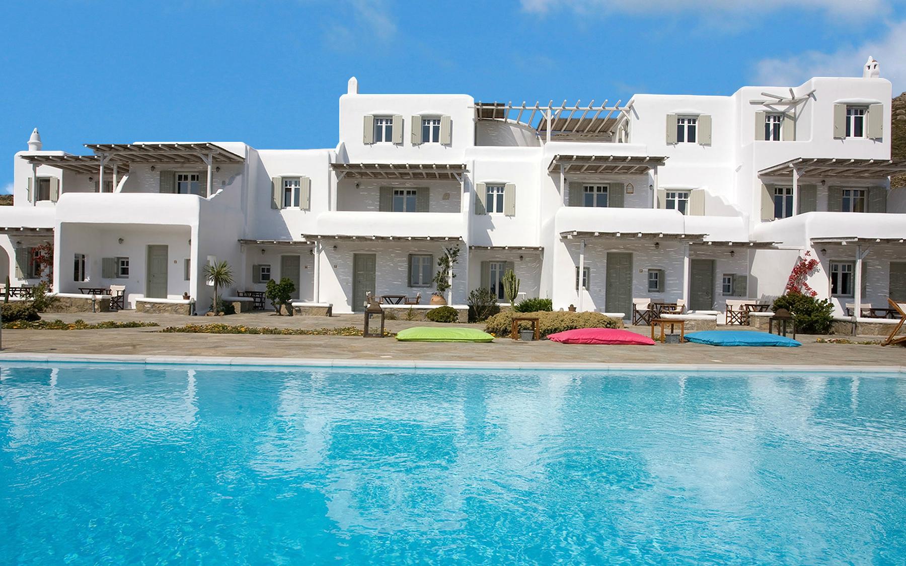 Yakinthos Residence Mykonos Relaxing Getaway Sea View